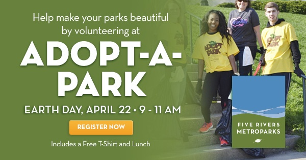 Celebrate Earth Day by volunteering for Adopt-a-Park