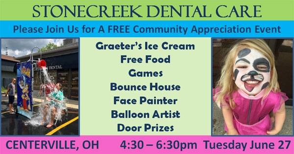 Stonecreek Dental Free Community Appreciation Event