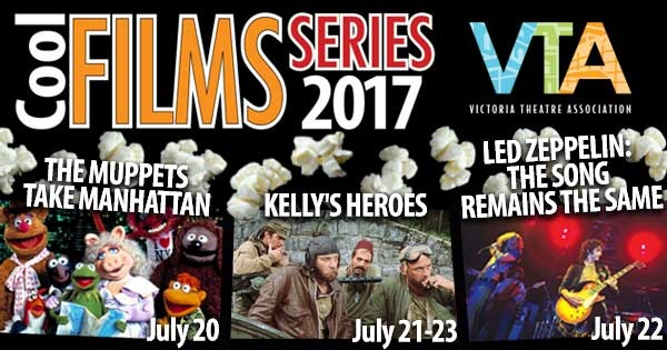 The Cool Films Series at Victoria Theatre
