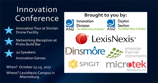 5th Annual ASQ Innovation Division Conference