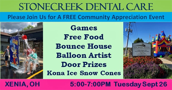Stonecreek Dental Free Xenia Community Appreciation Event