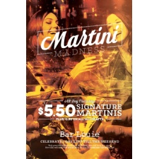 Martini Madness at Miamisburg Bar Louie's