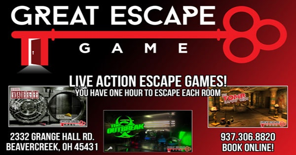 Great Escape Game 6 Rooms 6 Days A Week in Beavercreek