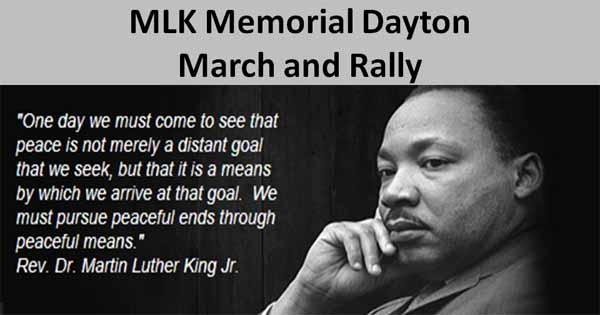 MLK Memorial Dayton March and Rally