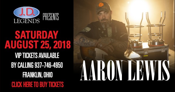 Aaron Lewis at JD Legends