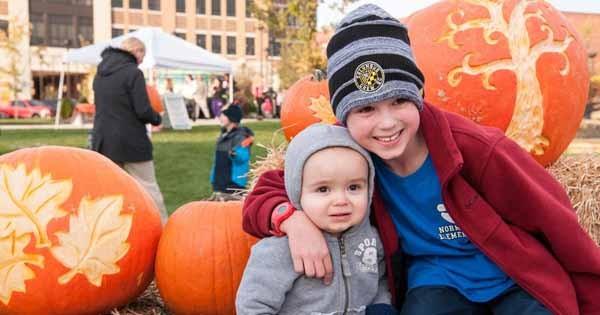 Pumpkins in the Park at Austin Landing