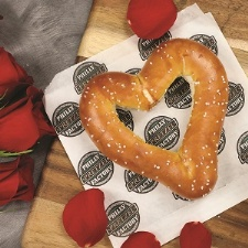Celebrate Valentine's Day with Heart Shaped Pretzels