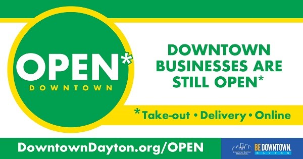 Downtown Dayton Restaurants Open for Carryout - Curbside - Deliver