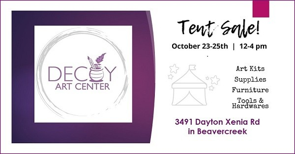 Decoy Art Center Tent Sale