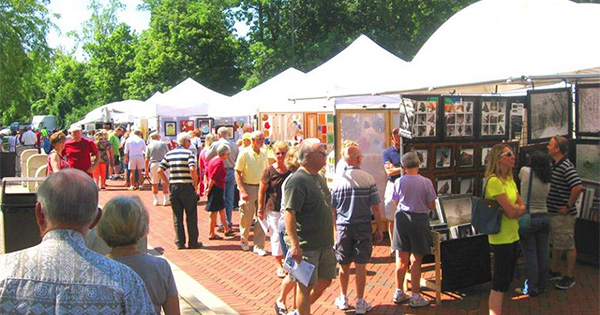 Art on the Commons art festival