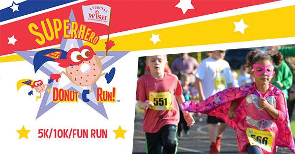 Superhero Donut Run 5K/10K     - canceled