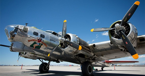 B-17 Bomber at the Dayton Airport this weekend