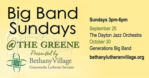 Big Band Sundays At The Greene
