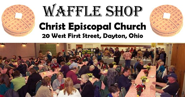 Waffle Shop at Christ Episcopal Church