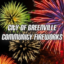 City of Greenville Community Fireworks Display