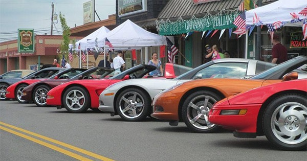 Corvette Only CruiseIn Car Show - Cruise car show