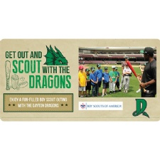 Dayton Dragons Boy Scout Night
