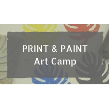 Print and Paint Art Camp