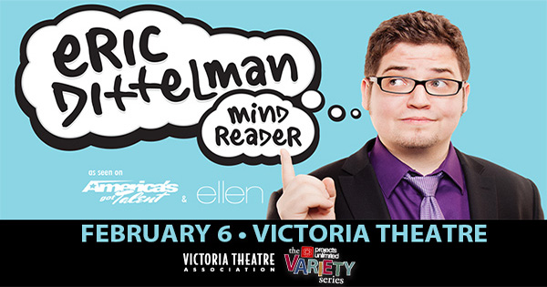 Mind Reader Eric Dittelman at Victoria Theatre