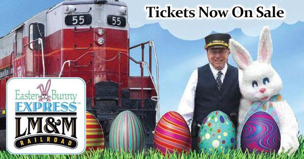 Easter Egg Bunny Express
