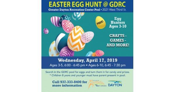 Easter Egg Hunt at GDRC