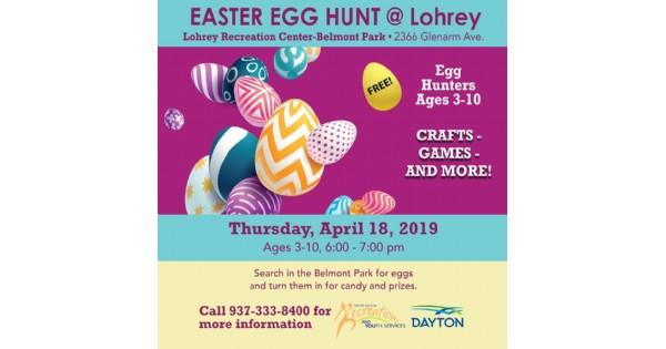 Easter Egg Hunt at Lohrey Recreation Center