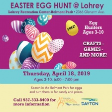 Easter Egg Hunt at Lohrey Recreation Center