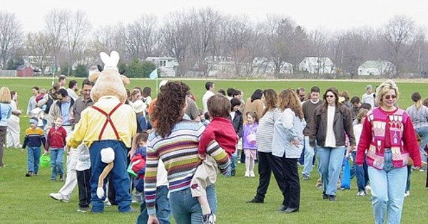 Easter Egg Hunt Youngs Dairy
