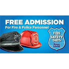 Free Admission For Fire And Police Personnel at Kings Island
