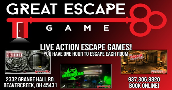 Great Escape Game 6 Rooms 7 Days A Week in Beavercreek