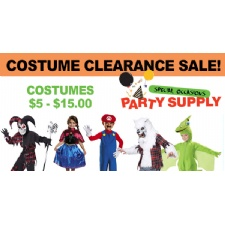 Halloween Costume Clearance Sale
