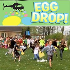 The River Church Helicopter Egg Drop