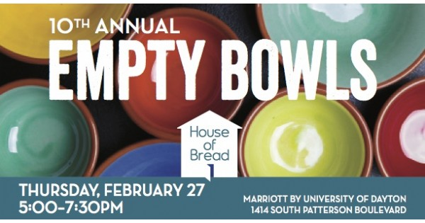House of Bread Empty Bowls Fundraiser