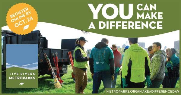 Make a Difference with Five Rivers MetroParks