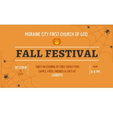 Moraine City First COG Fall Festival