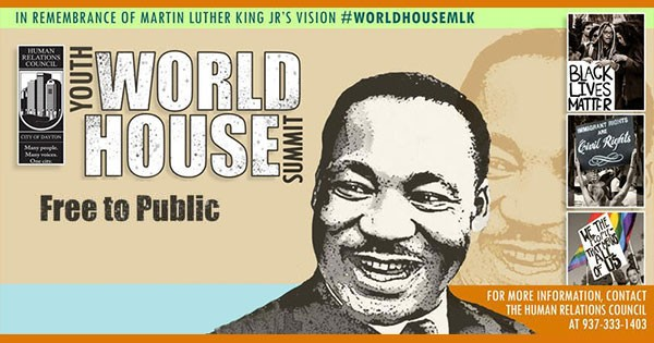 Martin Luther King, Jr. (MLK) Youth World House Summit - POSTPONED