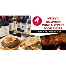 Nelly's Bolivian Wine & Street Food Fiesta