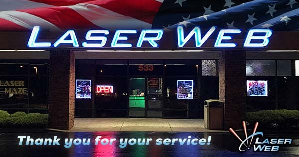 Armed Forces Day at Laser Web
