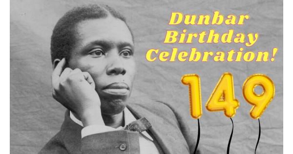 Paul Laurence Dunbar Birthday Celebration & Flag Raising Ceremony