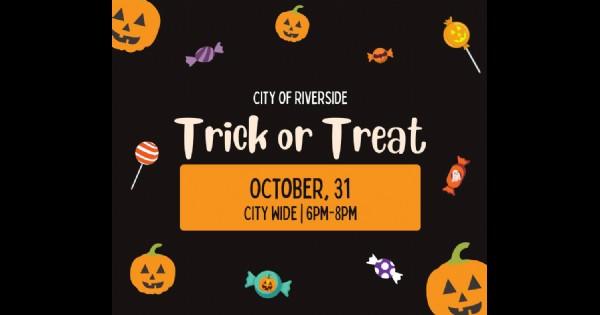 Riverside Ohio Trick or Treat