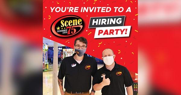 Scene75 Hiring Party!