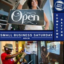 Small Business Saturday in Downtown Dayton