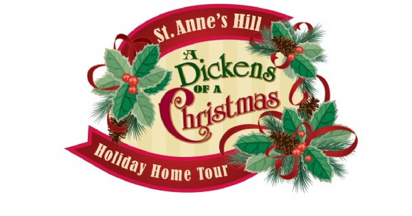 St. Annes Hill Historic District Dickens of a Christmas Holiday Home Tour