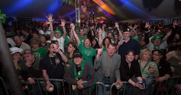 St. Patricks Day at Dublin Pub