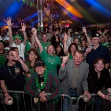 St. Patricks day at Dublin Pub