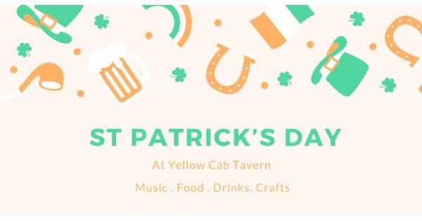 St. Patrick's Day at Yellow Cab
