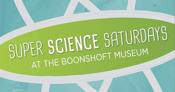 Super Science Saturday - Boonshoft Museum - suspended