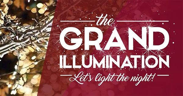 The Grand Illumination in Downtown Troy