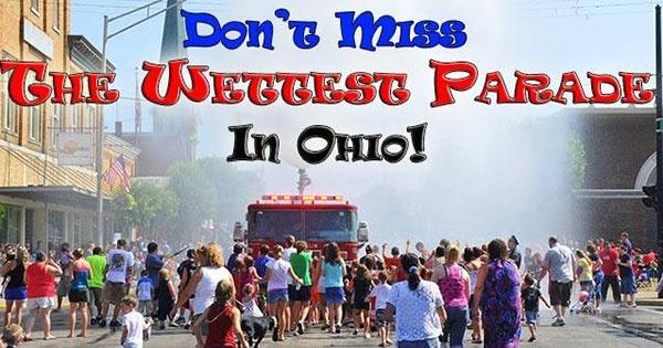 The Wettest Parade - Franklin Ohio