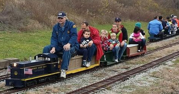 Train Rides at Carillon Park Railroad